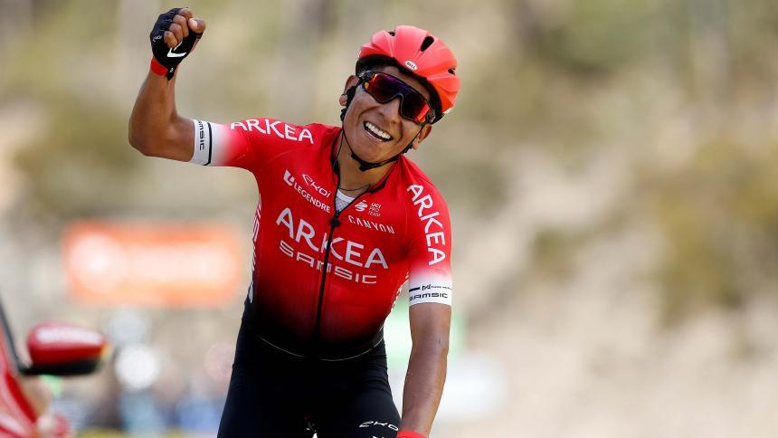 Nairo Quintana gana la última etapa de la vuelta París-Niza