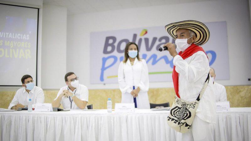Gestores culturales de Bolívar ya gozan de auxilios vitalicios