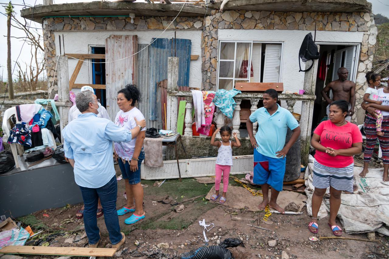 Gobierno instaló hospital de campaña en Providencia