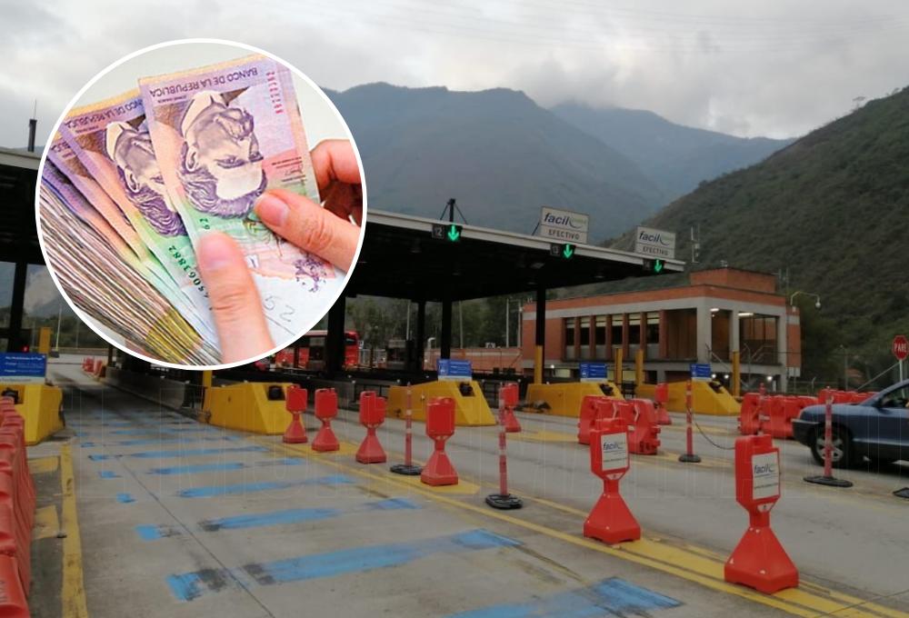 ¡Prepare su bolsillo! Peaje a la vía al llano costará 47.100 pesos desde este 16 de enero