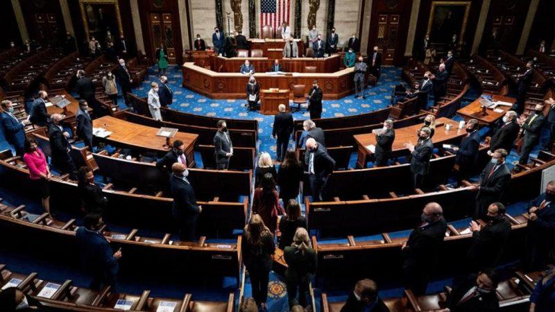 Cámara Baja de EE.UU. aprueba un nuevo juicio político a Trump tras asalto al Capitolio