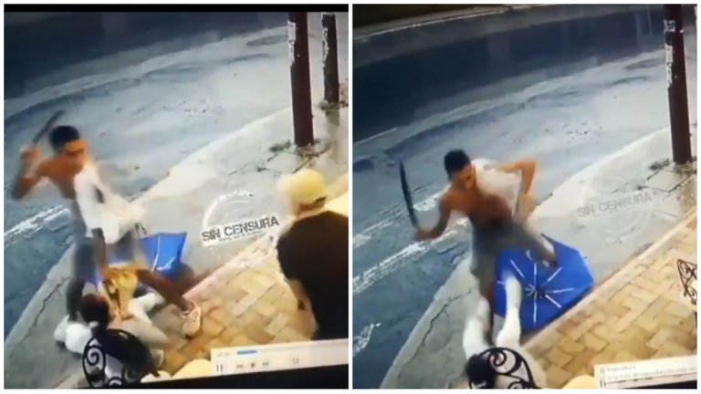 A machetazos, un hombre intentó robar a una mujer en Ibagué