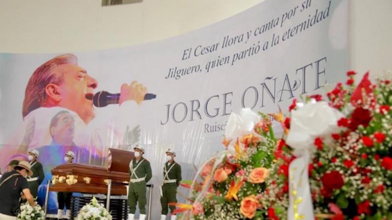 Recordando sus canciones, Valledupar despidió a 'El Ruiseñor', Jorge Oñate