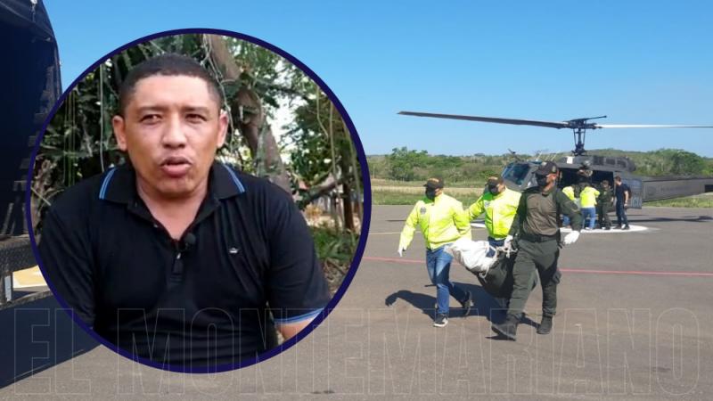 Denuncian muerte del campesino, Orlando Meza, en ataque militar al Clan del Golfo en El Carmen