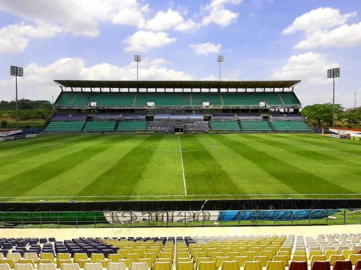 El estadio Jaraguay de Montería está listo para el partido de hoy entre Jaguares Vs Junior