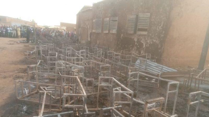 Veinte niños murieron quemados en una escuela en Niamey, Níger