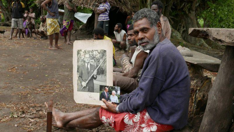 Una tribu del Pacífico cree que el príncipe Felipe, duque de Edimburgo era un Dios reencarnado