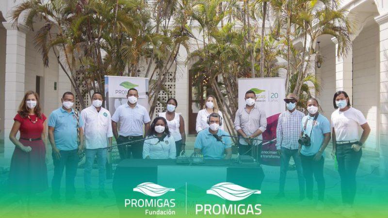 Pasacaballos tiene emisora comunitaria con Promigas y su Fundación