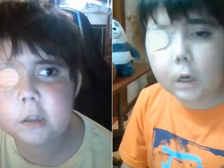 Un 'youtuber' de 11 años enfermo sueña con ser famoso: su historia se roba el corazón de las redes