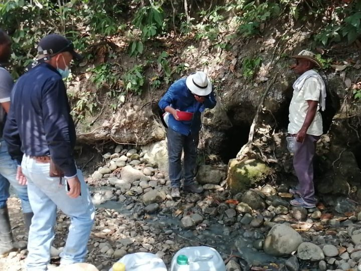 Hallan acuíferos con agua apta para el consumo en zona rural de San Jacinto, Bolívar