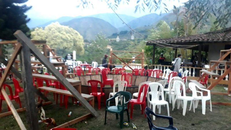 Sorprenden a 80 personas en gallera ilegal en San Jerónimo, Antioquia