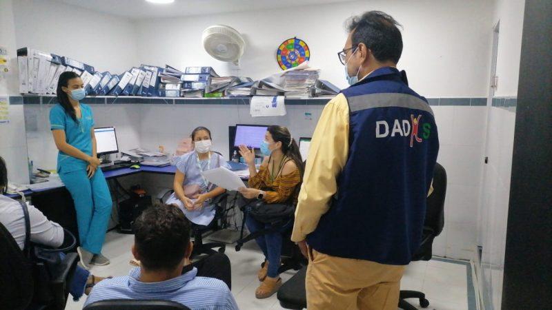 Por falta de licencias Dadis suspenden servicios en clínica de Cartagena