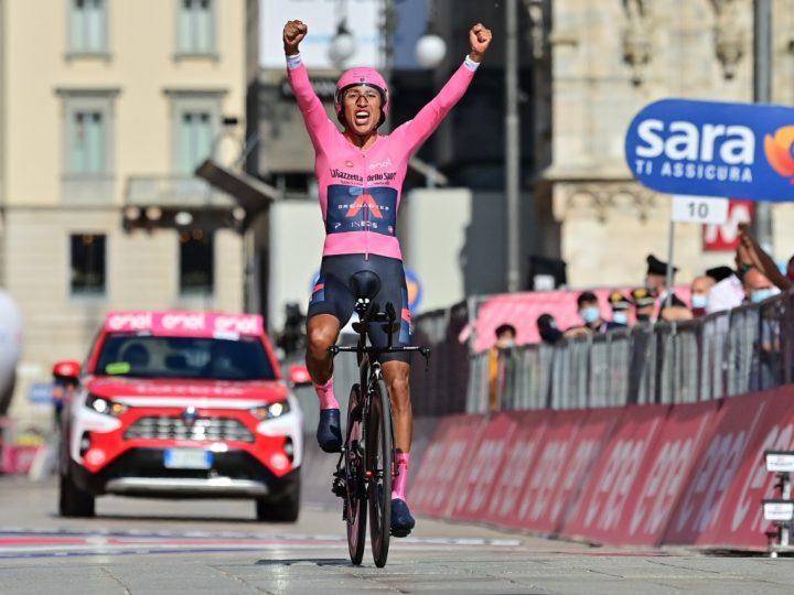 ¡Egan Bernal es el nuevo campeón del Giro de Italia!