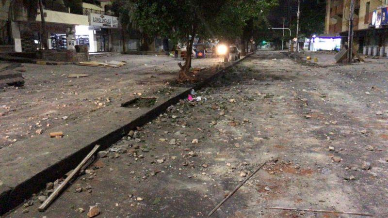 Tras protestas, más de 6 toneladas de escombros recogió Triple A en calle 72 en Barranquilla