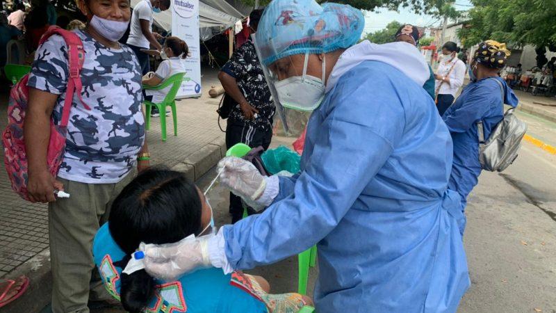 Alcaldía realiza nueva jornada de atención en salud a indígenas desplazados