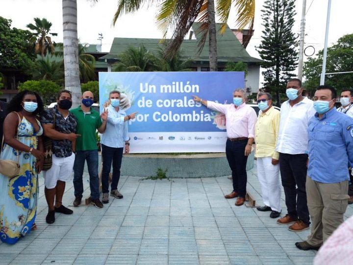 Presidente Duque y ministro Correa lanzaron el ambicioso programa Un Millón de Corales por Colombia