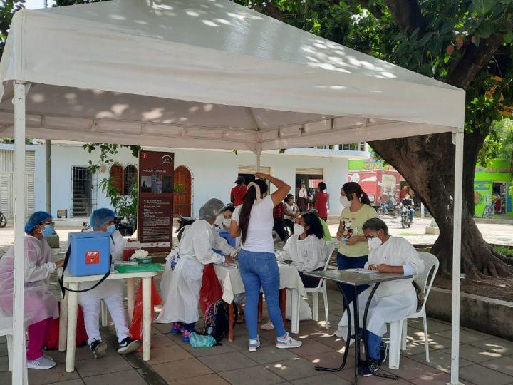 Comenzó vacunación masiva a mayores de 18 años en San Jacinto, Bolívar